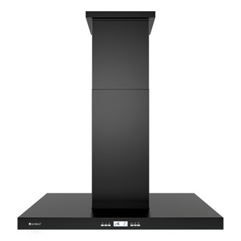Okap kuchenny Nomina Isola 90.4 Sensor Black