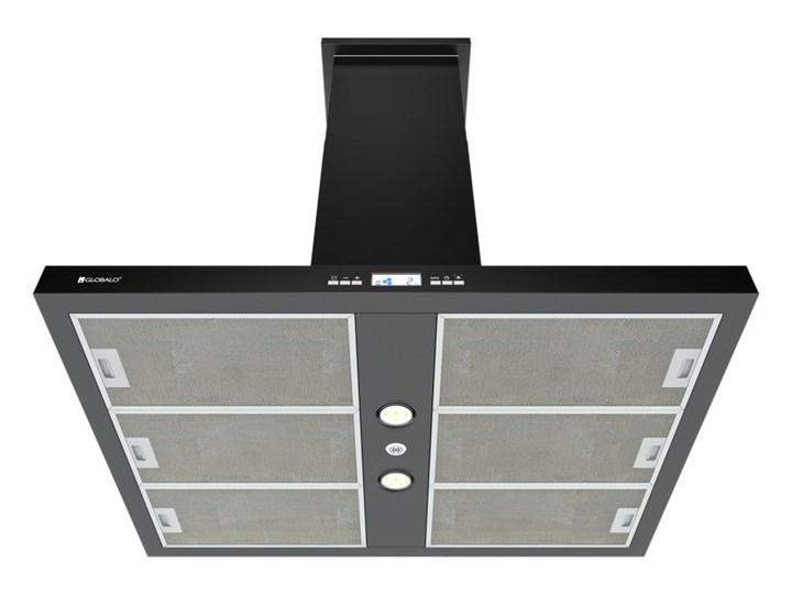 Okap kuchenny Nomina Isola 90.4 Sensor Black Poziom hałasu 64 dB Szerokość 90 cm Okap wyspowy Sterowanie Elektroniczne