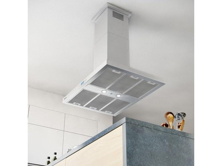 Okap kuchenny Nomina Isola 90.4 Sensor Poziom hałasu 70 dB Szerokość 90 cm Okap wyspowy Poziom hałasu 64 dB