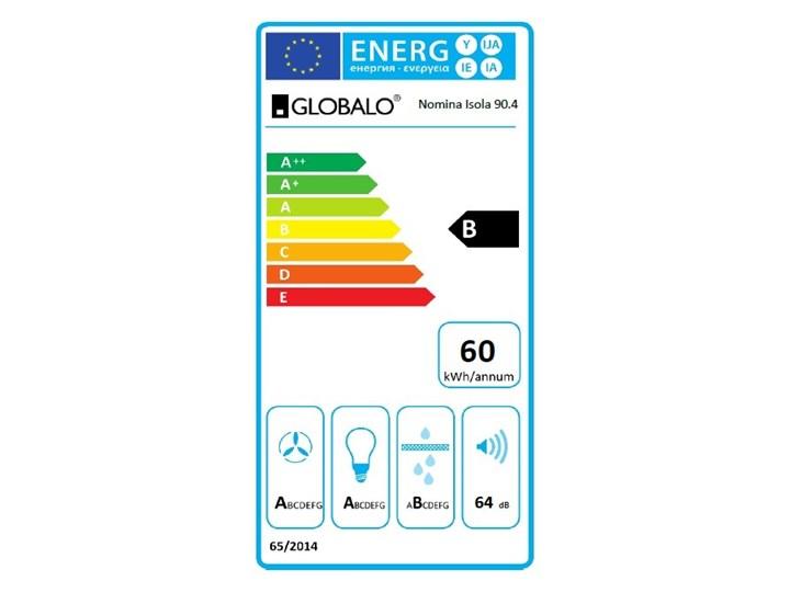 Okap kuchenny Nomina Isola 90.4 Sensor Szerokość 90 cm Kategoria Okapy Okap wyspowy Sterowanie Elektroniczne
