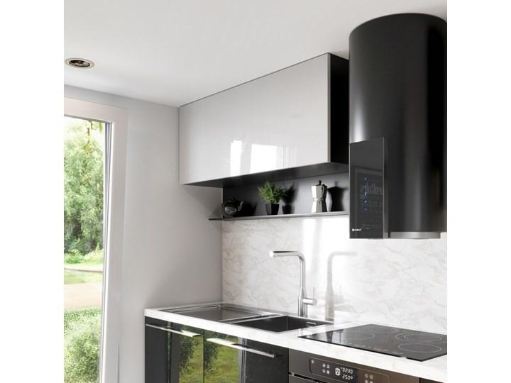 Okap kuchenny Roxano 39.1 Black Okap przyścienny Poziom hałasu 63 dB