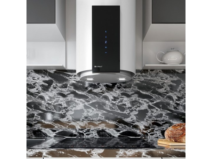 Okap kuchenny Roxano 39.1 White Poziom hałasu 49 dB Okap przyścienny Kolor Biały