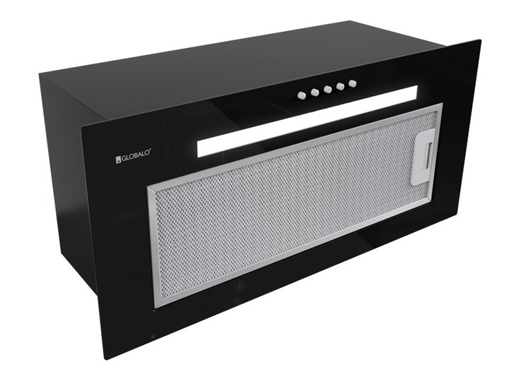 Okap kuchenny Benikor 60.2 Black Kolor Czarny Okap do zabudowy Poziom hałasu 61 dB