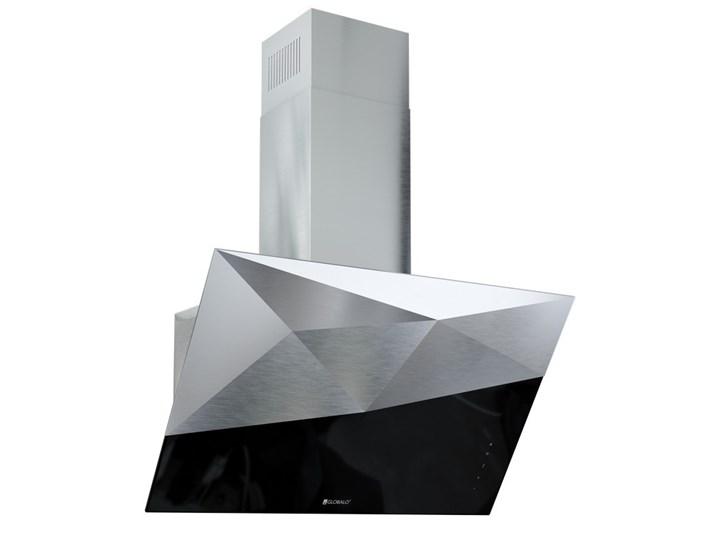 Okap kuchenny Rendero 90.1 Black Poziom hałasu 67 dB Okap przyścienny Sterowanie Elektroniczne