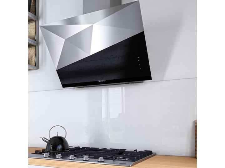 Okap kuchenny Rendero 90.1 Black Sterowanie Elektroniczne Okap przyścienny Poziom hałasu 51 dB
