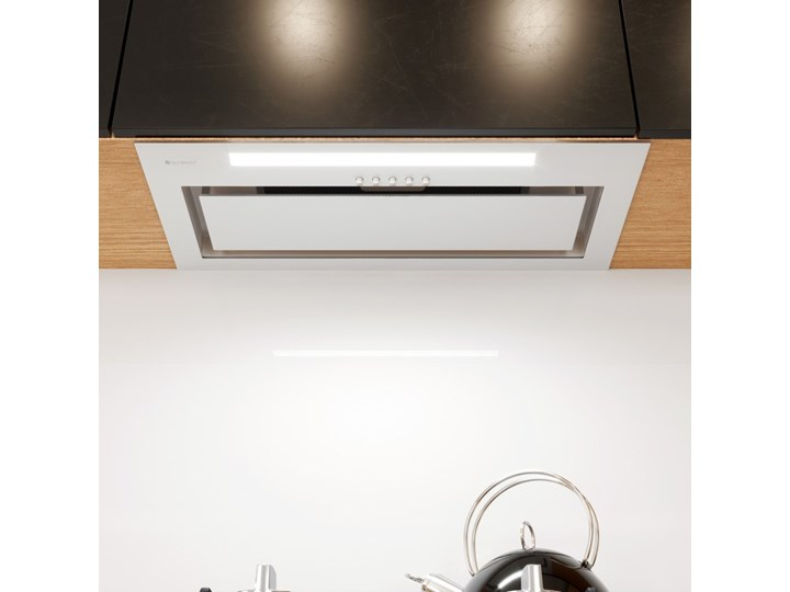 Okap kuchenny Senturo 60.3 White Okap podszafkowy Okap do zabudowy Kolor Biały Sterowanie Elektroniczne