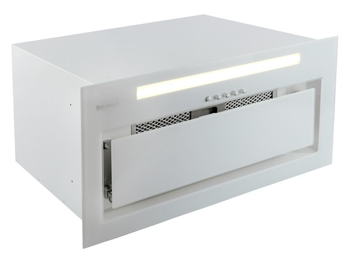 Okap kuchenny Senturo 60.3 White Poziom hałasu 66 dB Okap podszafkowy Okap do zabudowy Poziom hałasu 48 dB