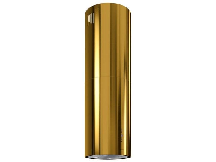 Okap kuchenny Cylindro Isola 39.5 Gold Okap wyspowy Okap przyścienny Sterowanie Elektroniczne