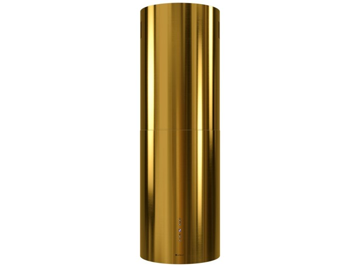 Okap kuchenny Cylindro Isola 39.5 Gold Poziom hałasu 61 dB Okap przyścienny Okap wyspowy Poziom hałasu 66 dB
