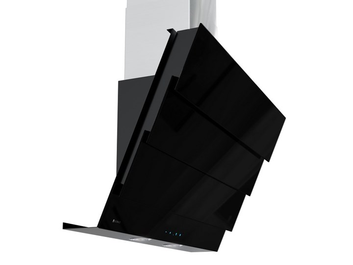 Okap kuchenny Softedo 90.1 Black Okap przyścienny Szerokość 90 cm Poziom hałasu 68 dB Poziom hałasu 51 dB
