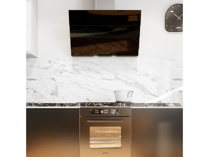 Okap kuchenny Softedo 90.1 Black Okap przyścienny Szerokość 90 cm Kolor Czarny Poziom hałasu 68 dB