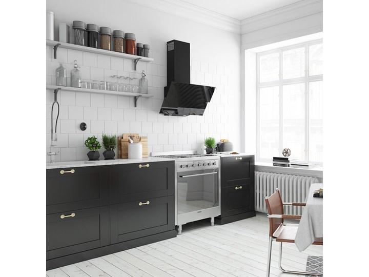 Okap kuchenny Womero 60.1 Black Okap przyścienny Sterowanie Elektroniczne