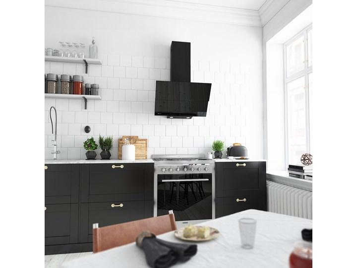 Okap kuchenny Womero 60.1 Black Poziom hałasu 47 dB Okap przyścienny Kolor Czarny