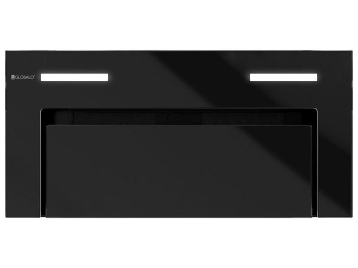 Okap kuchenny Gingero 60.1 Black Okap podszafkowy Sterowanie Elektroniczne Okap do zabudowy Poziom hałasu 66 dB