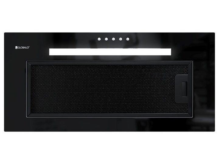 Okap kuchenny Rigelo 60.2 Black Okap do zabudowy Poziom hałasu 61 dB