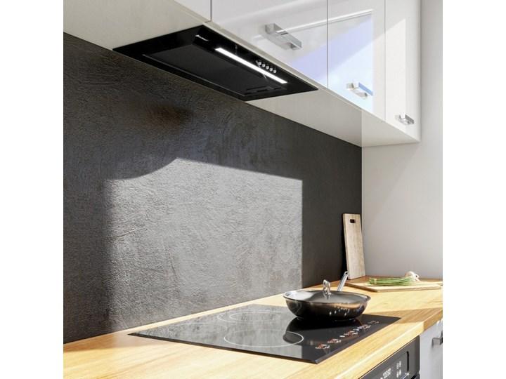 Okap kuchenny Rigelo 60.2 Black Okap do zabudowy Poziom hałasu 61 dB Sterowanie Mechaniczne