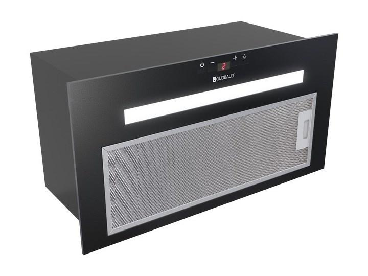 Okap kuchenny Amadio 60.2 Black Kolor Czarny Okap do zabudowy Poziom hałasu 61 dB