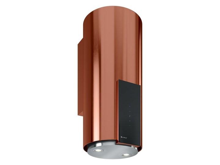Okap kuchenny Roxano 39.1 Miedź Poziom hałasu 63 dB Okap przyścienny Poziom hałasu 68 dB