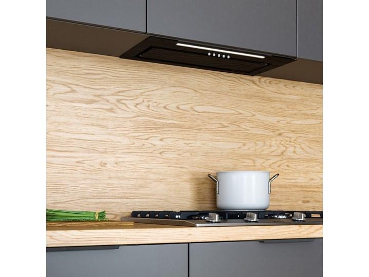 Okap kuchenny Senturo 60.3 Black Kolor Czarny Okap podszafkowy Okap do zabudowy Sterowanie Elektroniczne