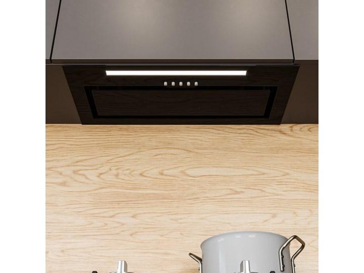 Okap kuchenny Senturo 60.3 Black Okap podszafkowy Okap do zabudowy Sterowanie Elektroniczne