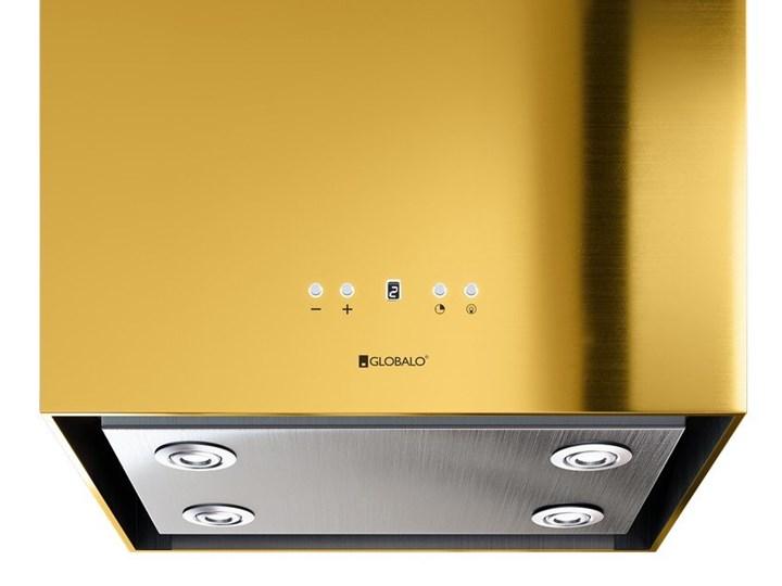 Okap kuchenny Toredo Isola 40.5 Gold Okap wyspowy Poziom hałasu 62 dB Poziom hałasu 47 dB