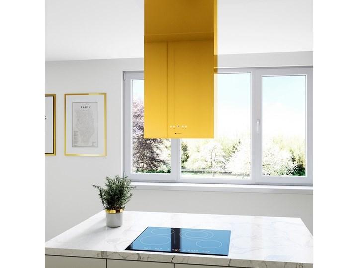 Okap kuchenny Toredo Isola 40.5 Gold Okap wyspowy Poziom hałasu 67 dB