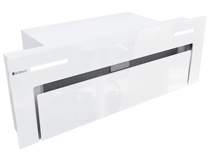 Okap kuchenny Gingero 80.1 White Okap do zabudowy Poziom hałasu 66 dB Okap podszafkowy Poziom hałasu 59 dB