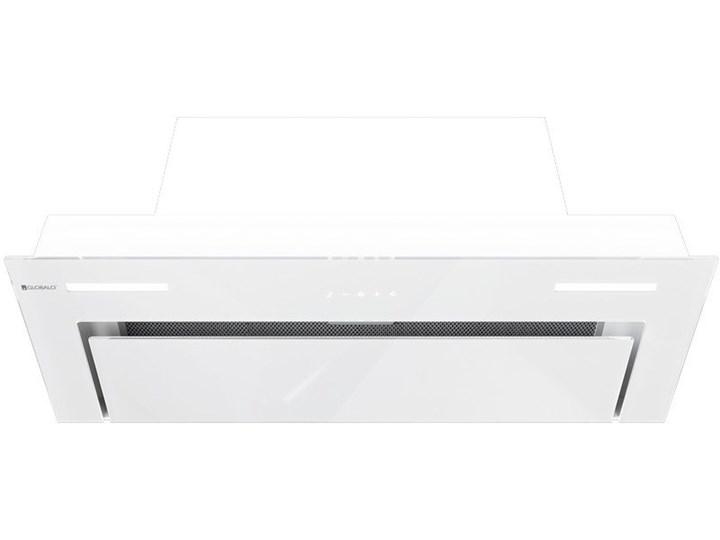 Okap kuchenny Gingero 80.1 White Okap do zabudowy Okap podszafkowy Poziom hałasu 59 dB Poziom hałasu 46 dB