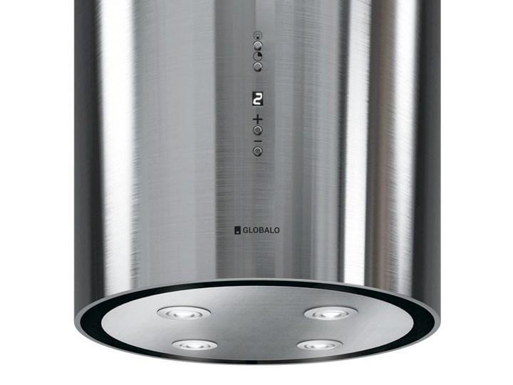 Okap kuchenny Asterio Isola 39.1 Inox Okap wyspowy Okap przyścienny Poziom hałasu 70 dB Sterowanie Elektroniczne