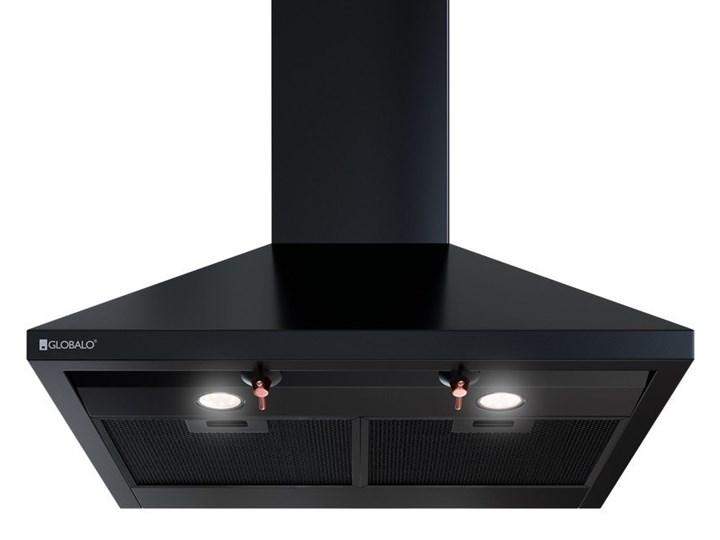 Okap kuchenny Bertez 60.1 Black Okap przyścienny Poziom hałasu 45 dB