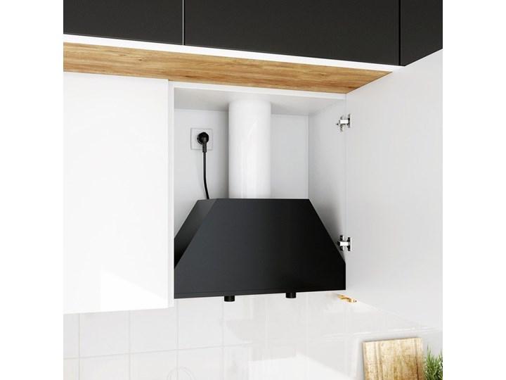 Okap kuchenny Spedtero 60.1 Black Okap do zabudowy Okap podszafkowy Poziom hałasu 67 dB Sterowanie Mechaniczne