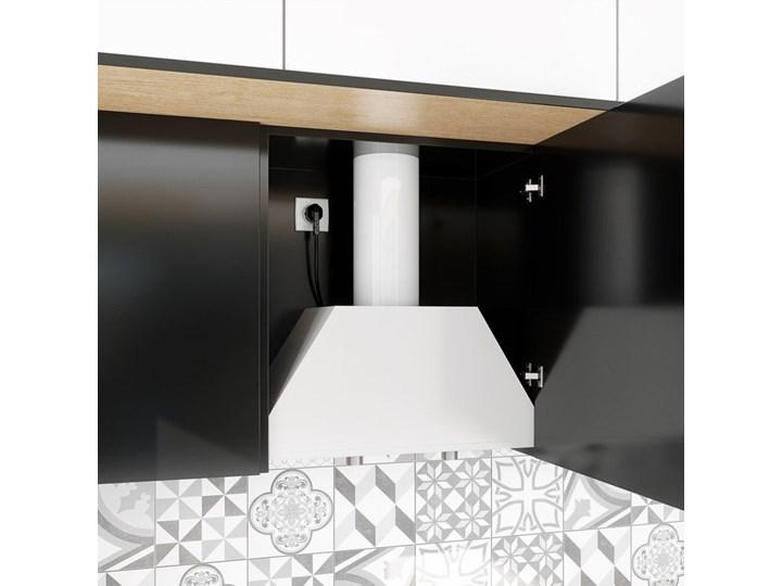 Okap kuchenny Spedtero 60.1 White Poziom hałasu 45 dB Okap podszafkowy Okap do zabudowy Sterowanie Mechaniczne