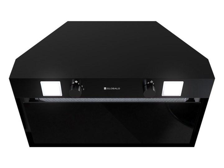 Okap kuchenny Spedtero 60.1 Black Sterowanie Mechaniczne Okap podszafkowy Okap do zabudowy Poziom hałasu 45 dB