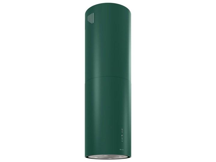 Okap kuchenny Cylindro Isola 39.5 Green Okap przyścienny Okap wyspowy Poziom hałasu 66 dB