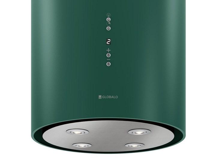Okap kuchenny Cylindro Isola 39.5 Green Okap wyspowy Okap przyścienny Poziom hałasu 61 dB