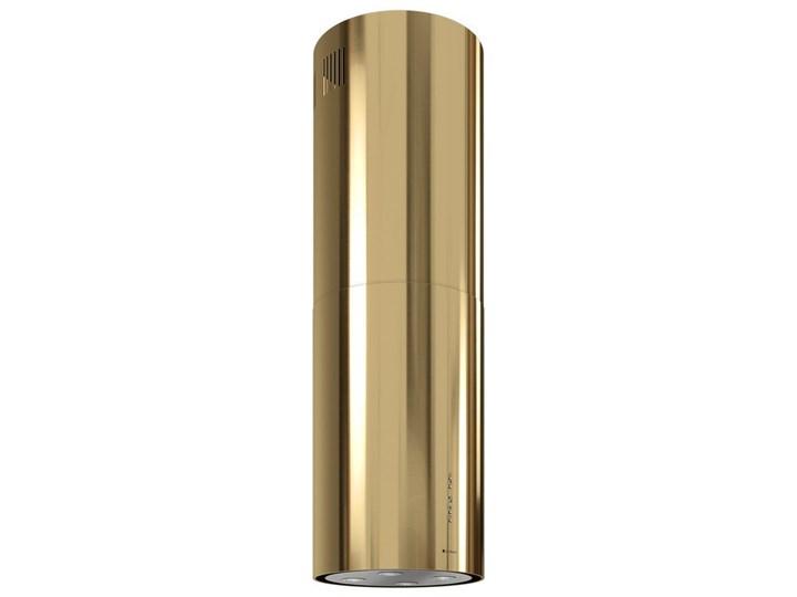 Okap kuchenny Cylindro Isola 39.5 Light Gold Okap wyspowy Okap przyścienny Poziom hałasu 66 dB