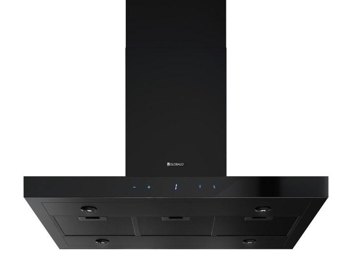 Okap kuchenny Verta Isola 90.1 Black Okap przyścienny Kolor Czarny Okap wyspowy Poziom hałasu 44 dB