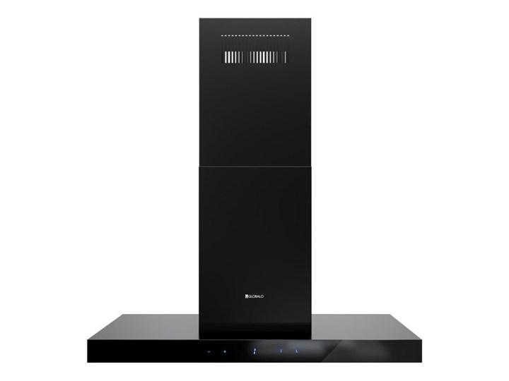 Okap kuchenny Verta Isola 90.1 Black Okap przyścienny Okap wyspowy Poziom hałasu 64 dB