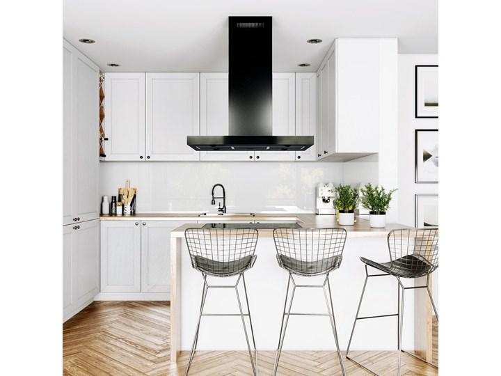 Okap kuchenny Verta Isola 90.1 Black Okap wyspowy Okap przyścienny Poziom hałasu 57 dB