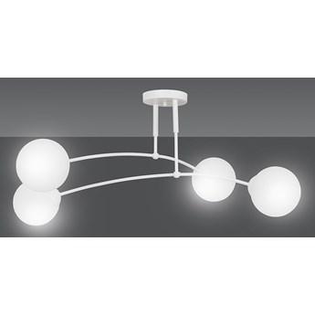 PREGOS 4 WHITE 671/4 oryginalna lampa sufitowa biała LOFT szklane mleczne klosze