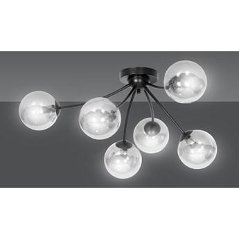 BAMBA 6 BL GRAFIT 544/6 plafon lampa sufitowa nowoczesna szklane klosze DESIGN