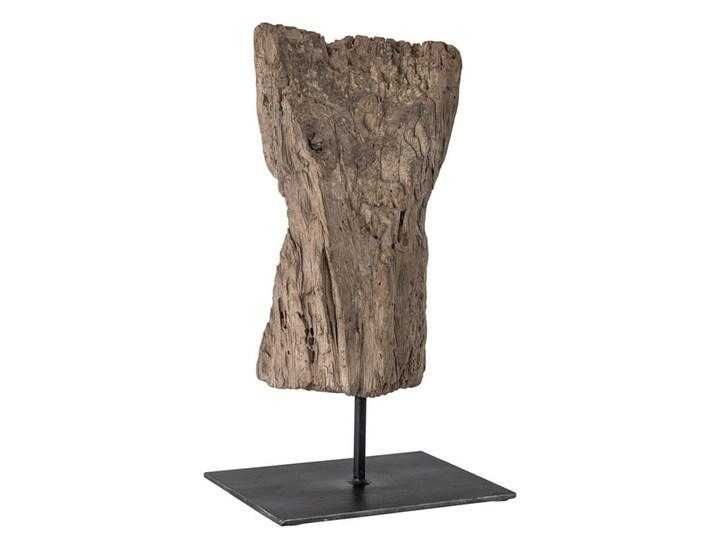 DEKORACYJNA RZEŹBA WOOD BLOOMINGVILLE L26xH45xW20 cm Drewno Kategoria Figury i rzeźby Kolor Brązowy