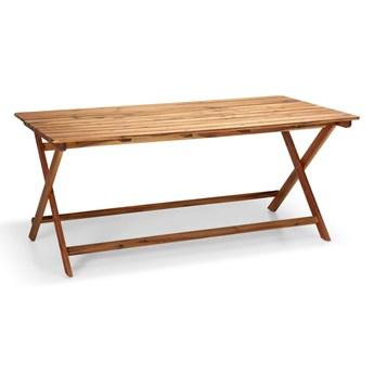 Stół ogrodowy z drewna akacji Le Bonom Natur, 88x114 cm