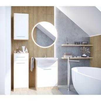 Łazienka NEPPA dąb artisan / biały laminat