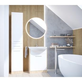 Łazienka NEPPA LONG dąb artisan / biały laminat