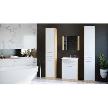 Łazienka SLIM MAX dąb artisan / biały