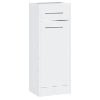 Tania szafka łazienkowa niska SLIM / NICO SL3 biały laminat