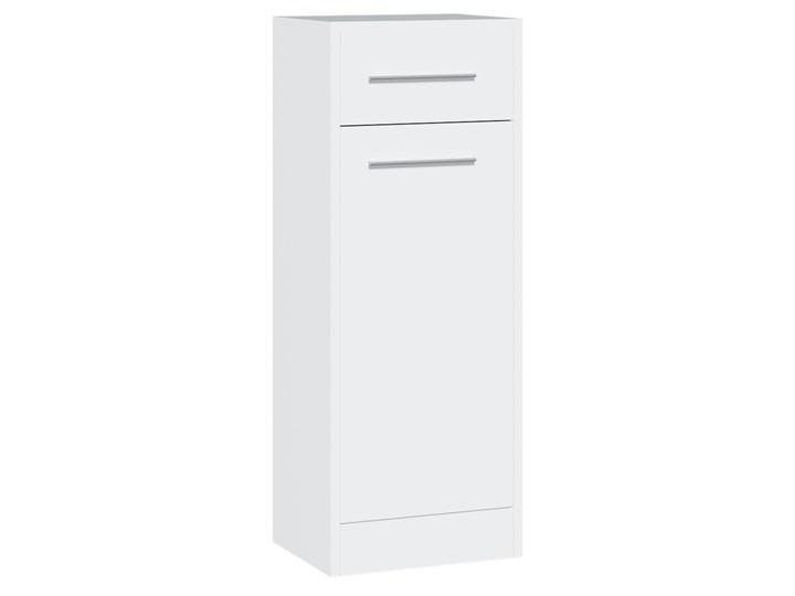 Tania szafka łazienkowa niska SLIM / NICO SL3 biały laminat Wysokość 90 cm Głębokość 30 cm Szafki Szerokość 34 cm Wiszące Kategoria Szafki stojące