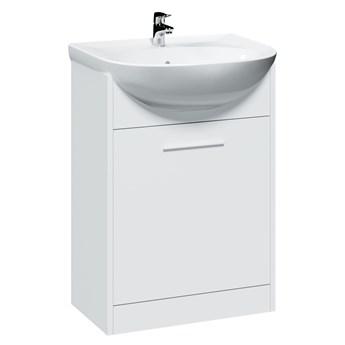 Szafka pod umywalkę SLIM / NICO / LUMIA SL2 biały laminat