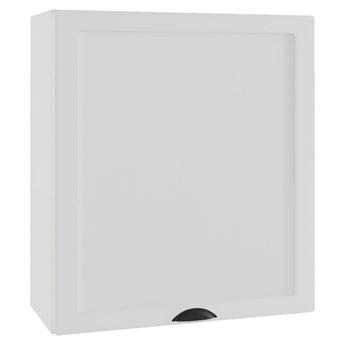 Szafka wisząca z okapem ADELE W60/68 SLIM P/L biały